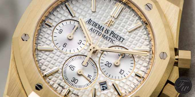 Audemars Piguet Royal Oak gold 26320BA.OO