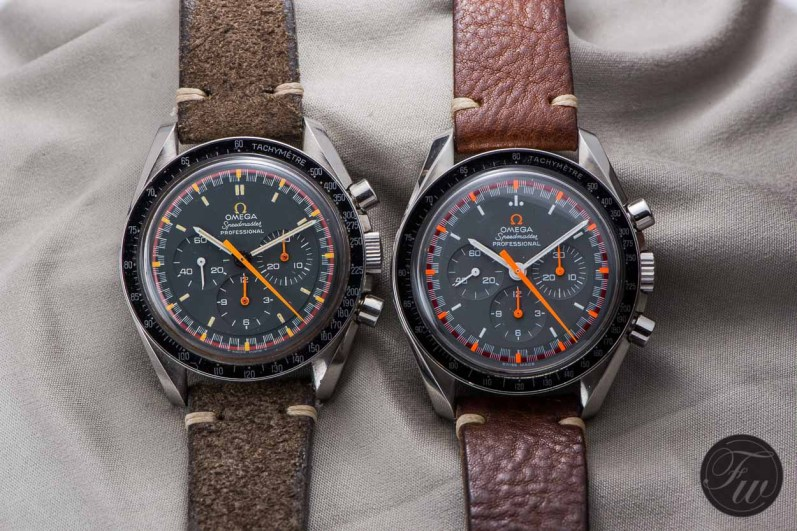 Omega Speedmaster Racing 145.022-68 and 3570.40