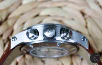 ortis aeromaster steel chronograph