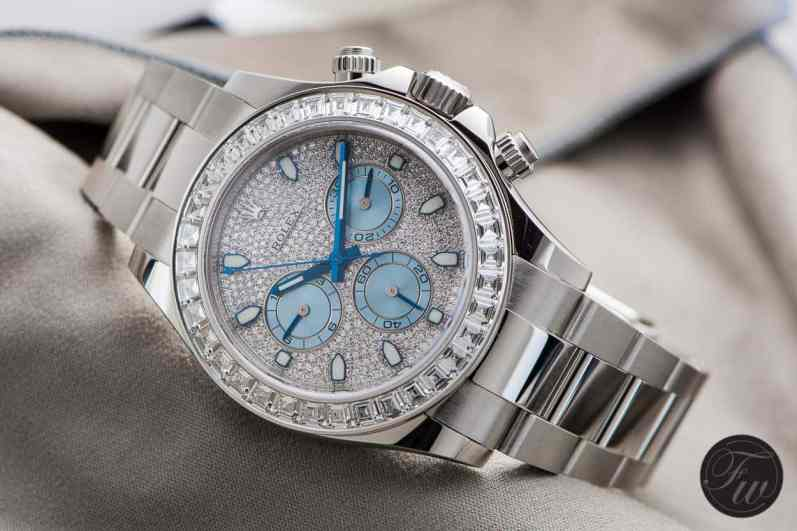 Rolex Daytona 116576 Platinum Diamonds 9563