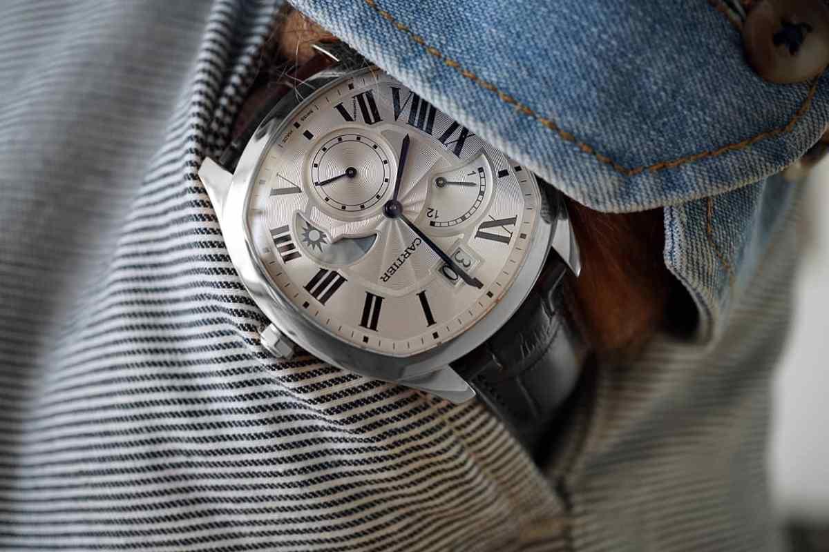 GEO Drive CartierSteel Casual Wrist