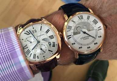 - The Drive- and 42mm Rotonde de Cartier -