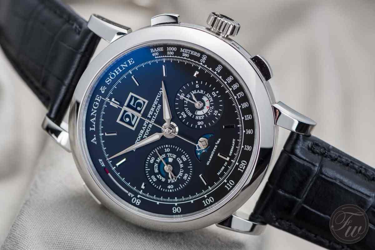 Top 10 Chronographs A. Lange & Söhne Datograph