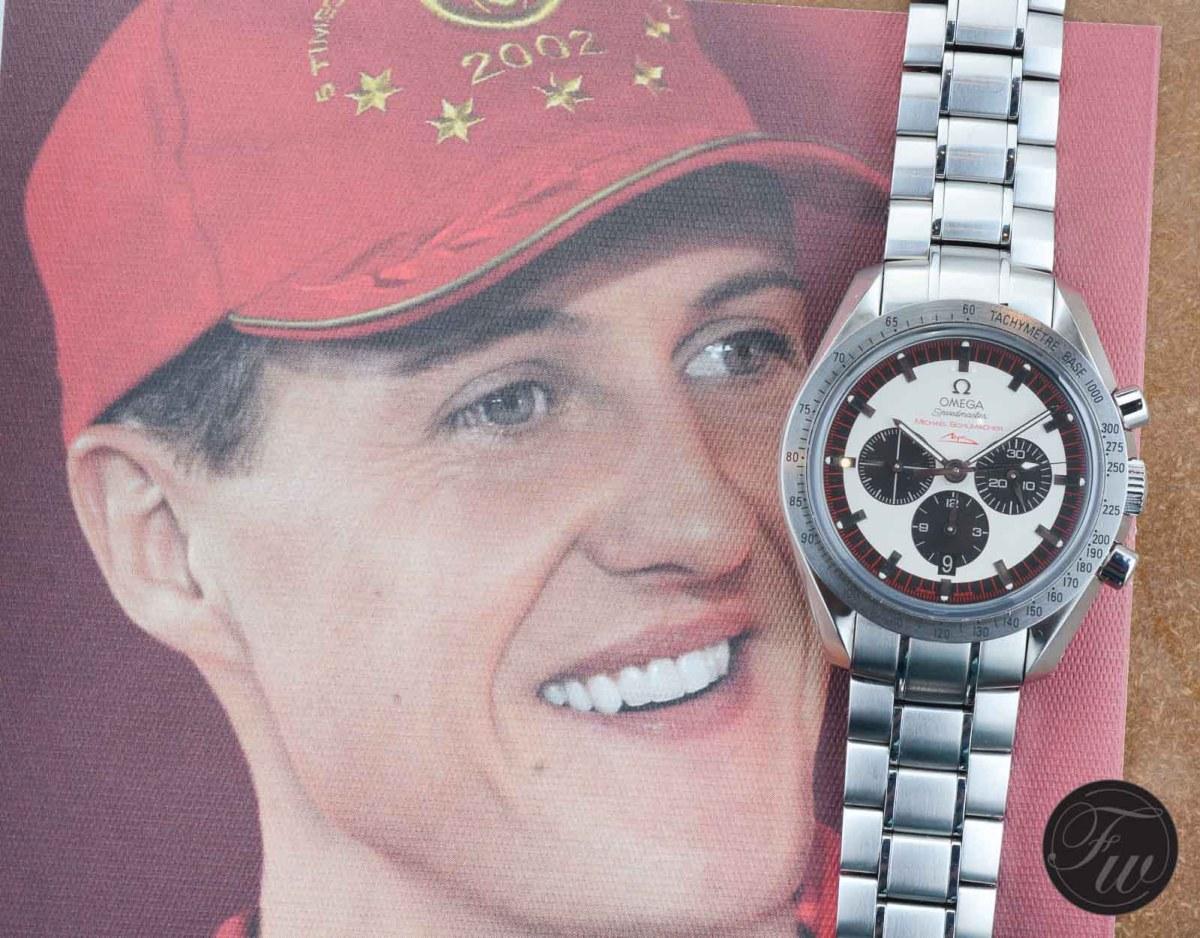 Omega Speedmaster Michael Schumacher
