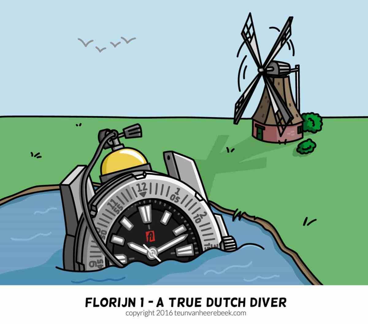 Dutch diver: Florijn 1