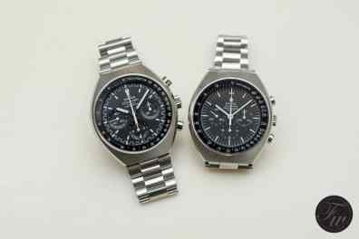 Speedmaster Mark II 2014 and Speedmaster Mark II 1969
