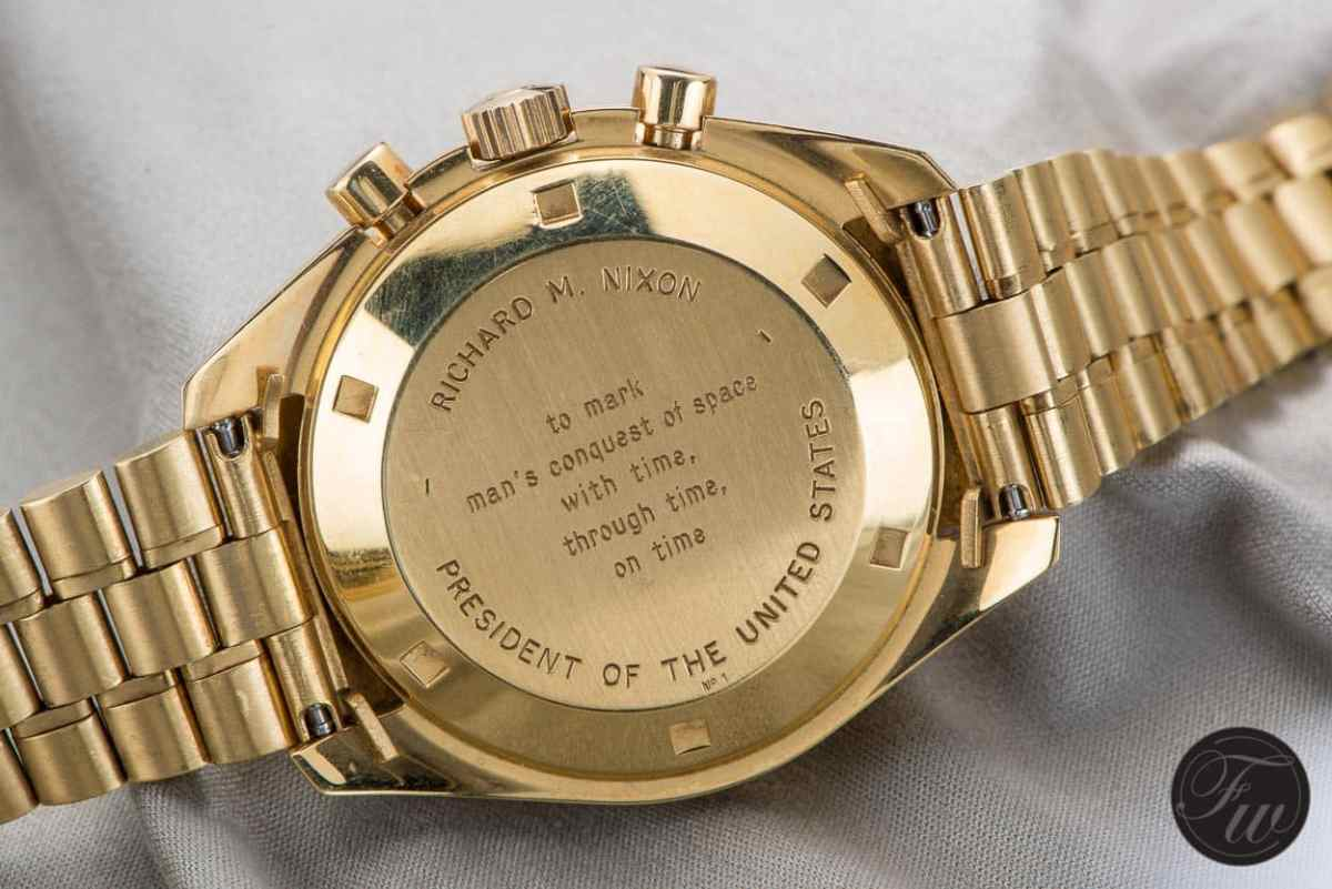 Gold Speedmaster Apollo XI Richard Nixon