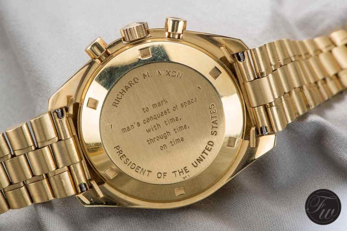 Gold Speedmaster Apollo XI Richard Nixon