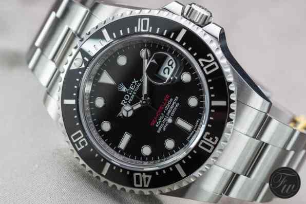 New Rolex Sea-Dweller Anniversary