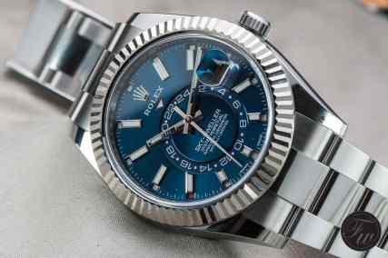 Rolex Sky-Dweller Steel Blue-0353