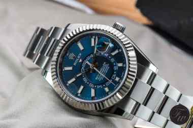 Rolex Sky-Dweller Steel Blue-0359