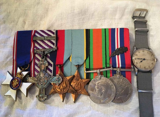 FWW medals and watch-1