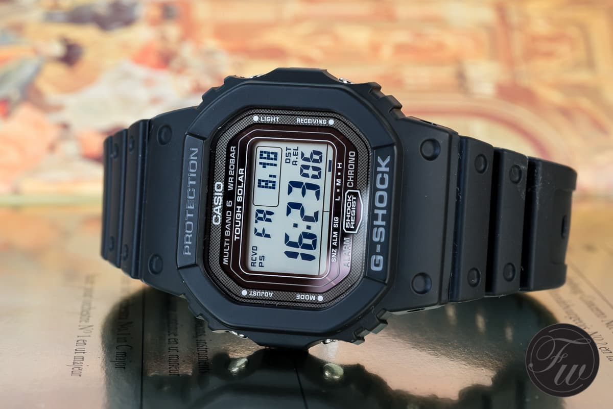 decc131522cb The Casio G-Shock GW-5000 an offspring from the first G-Shock in 1983