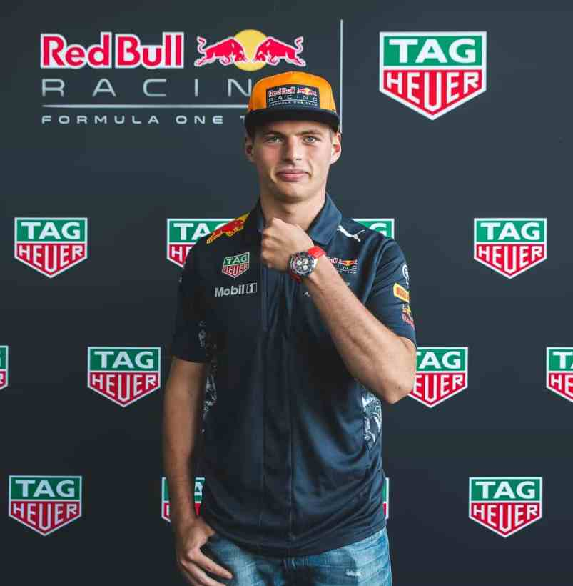 TAGHeuer_Max Verstappen and his new Special Edition (2)