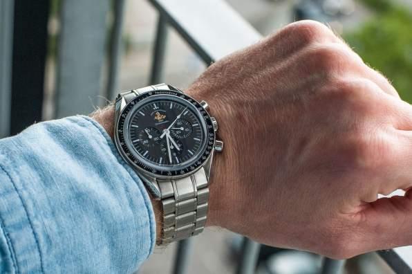 Speedmaster 50th Anniversary 'Patch' 311.30.42.30.01.001