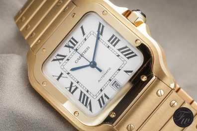 Cartier Santos YG.002