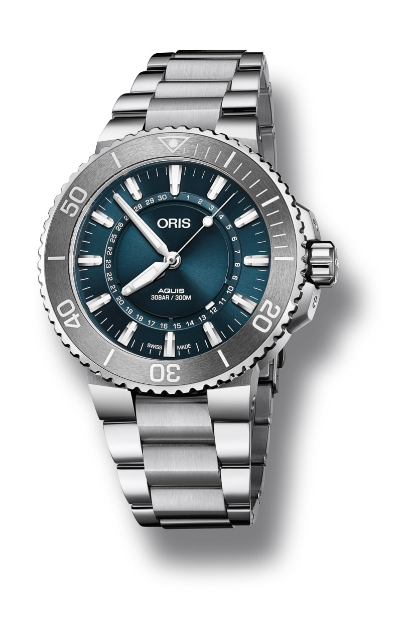 A New Oris Aquis The Oris Source Of Life Limited Edition