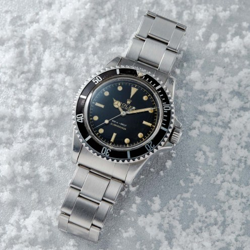 1110-Rolex Submariner Ref. 5512 with Square Crowns