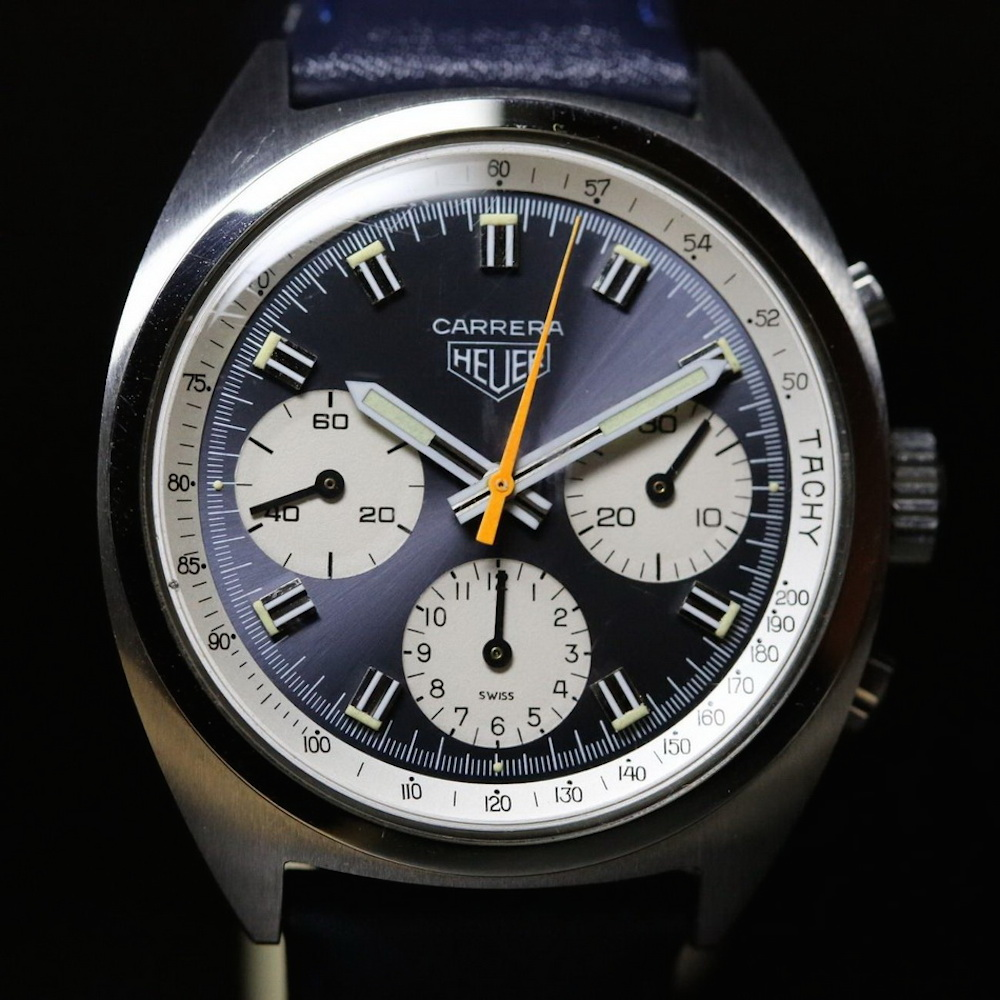 1970's Heuer Carreras like this present great value from a legendary name. (photo credit: OnTheDash.com)