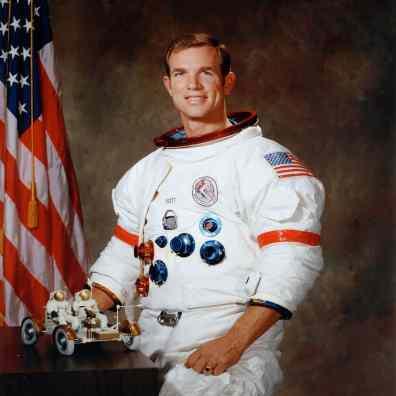 Apollo 15 Astronaut Dave Scott