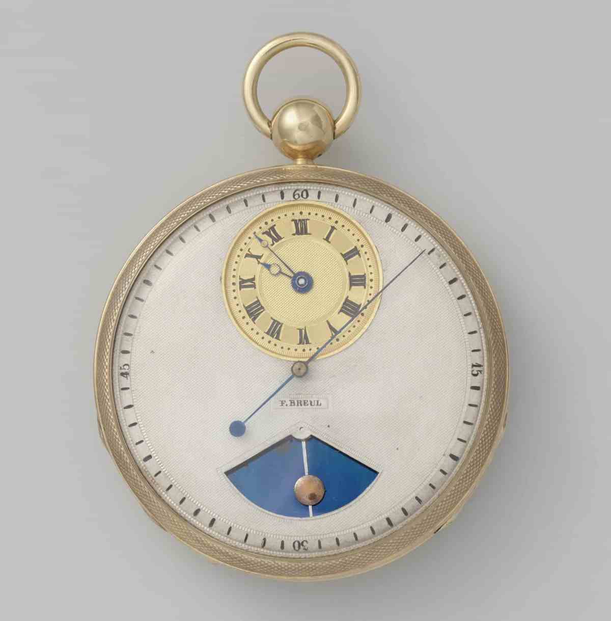 Pocket watch - F. Breul