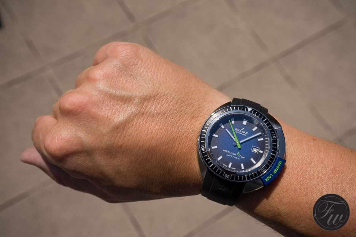 Edox Hydro-Sub 50th Anniversary