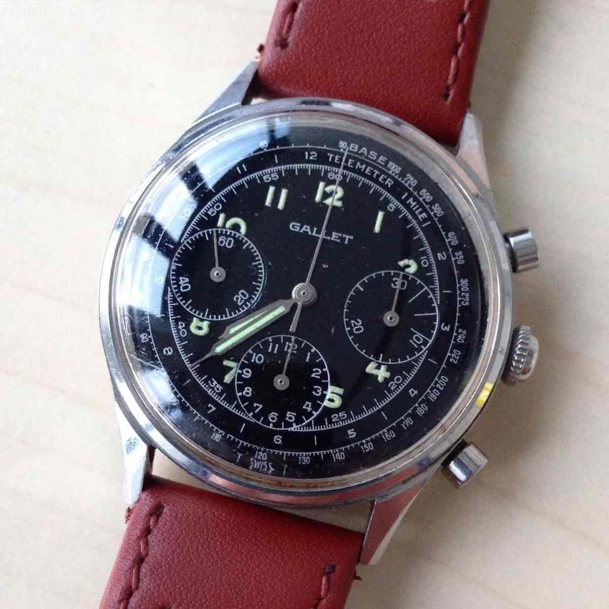 Gallet Chronograph