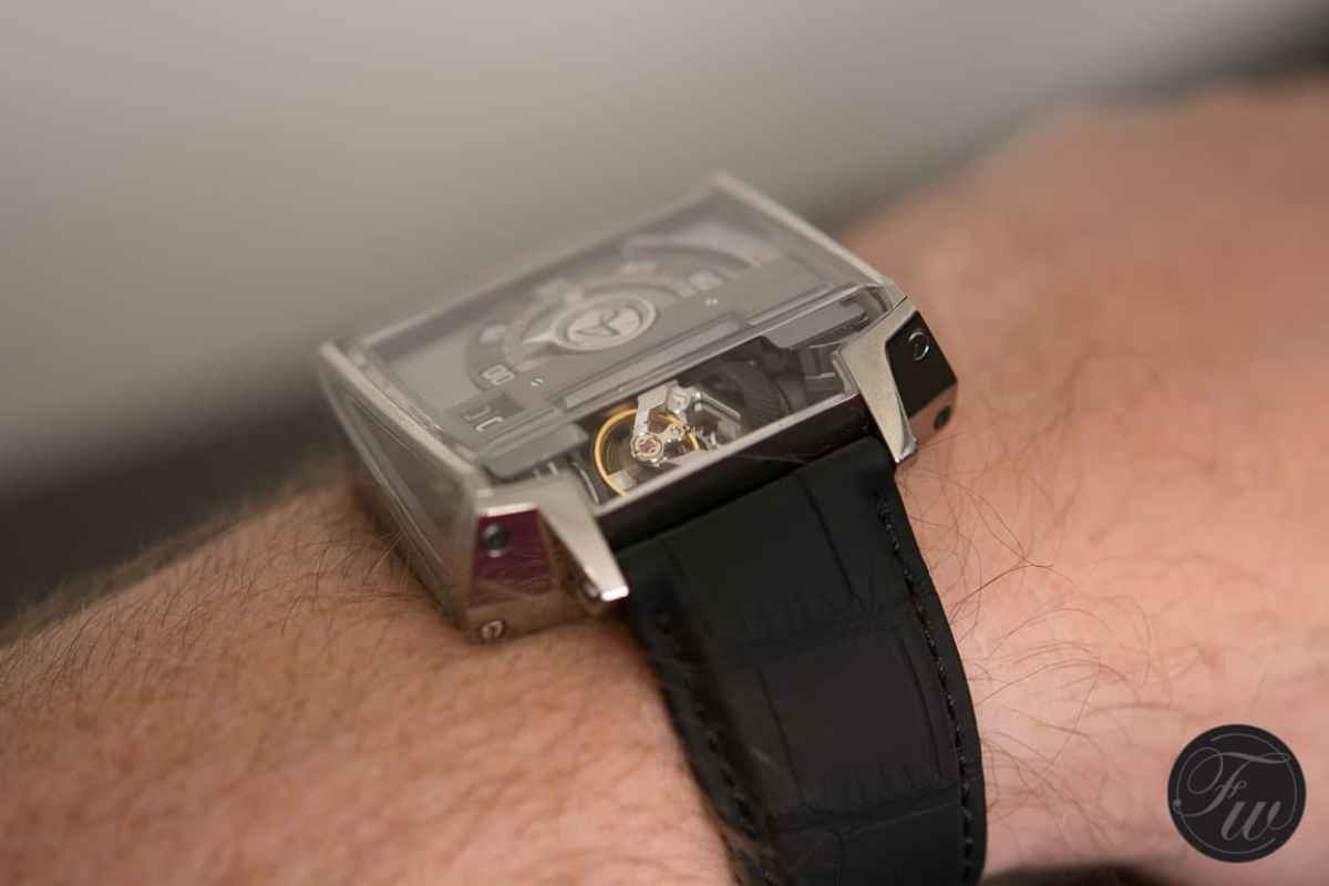 Hautlence Vortex Wristshot