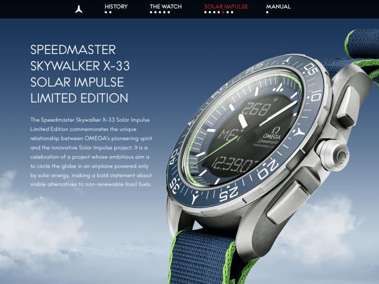 Speedy Tuesday - Omega Speedmaster Skylwalker X-33 Solar Impulse Limited Edition