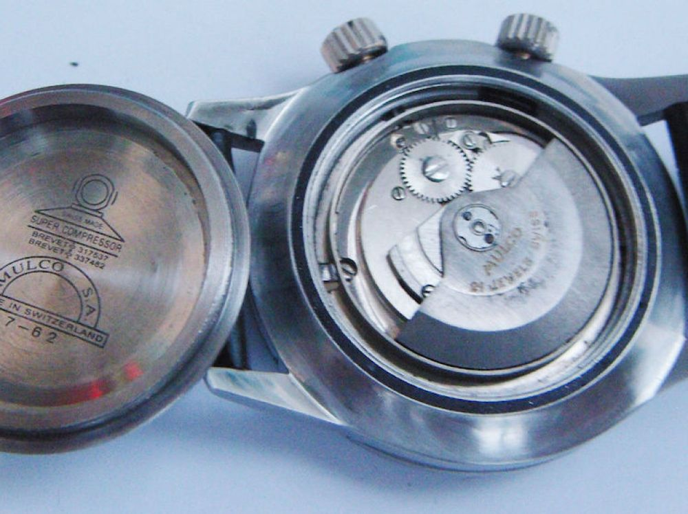 The Yema Rallye features the bulletproof Valjoux 7733 movement (picture credit: seller on eBay)