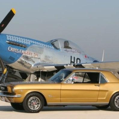 Mustangcarandplane