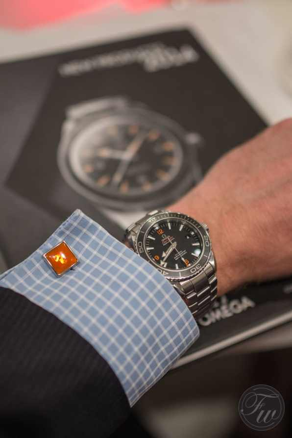 Seamaster Planet Ocean and cuff links