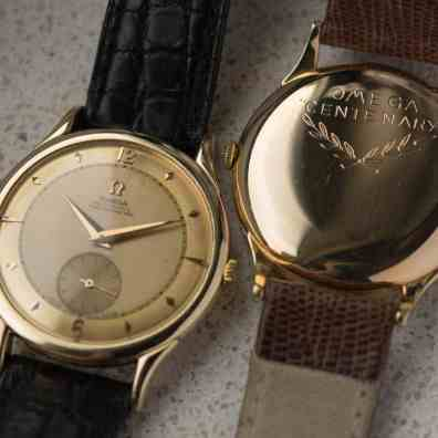 The Omega Centenary From A Collector's Perspective