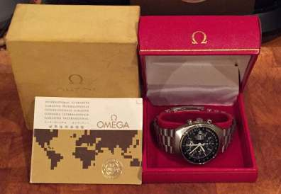 Full package of the Omega Speedmaster Mark 4.5