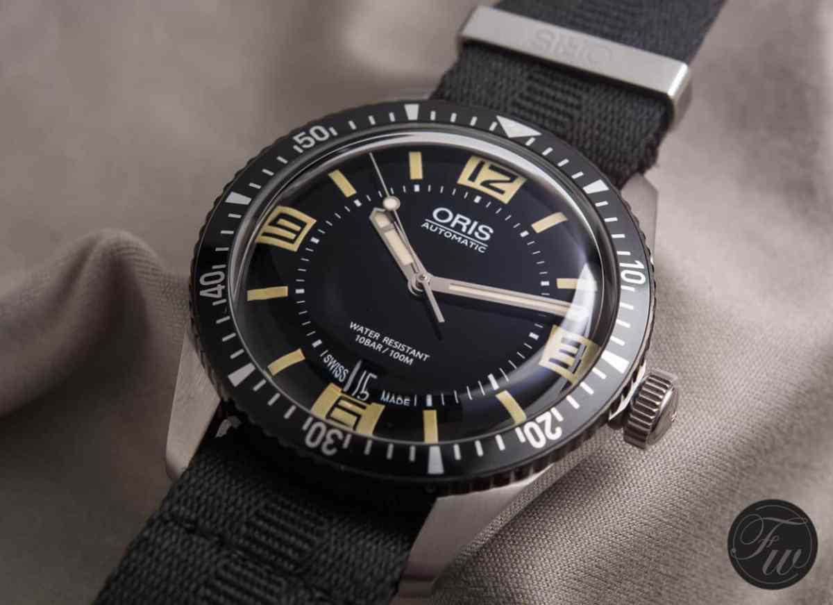 At 1700 Euros, Oris showed us, with its Sixty-Five diver, that great new Swiss watches are still readily available at great prices
