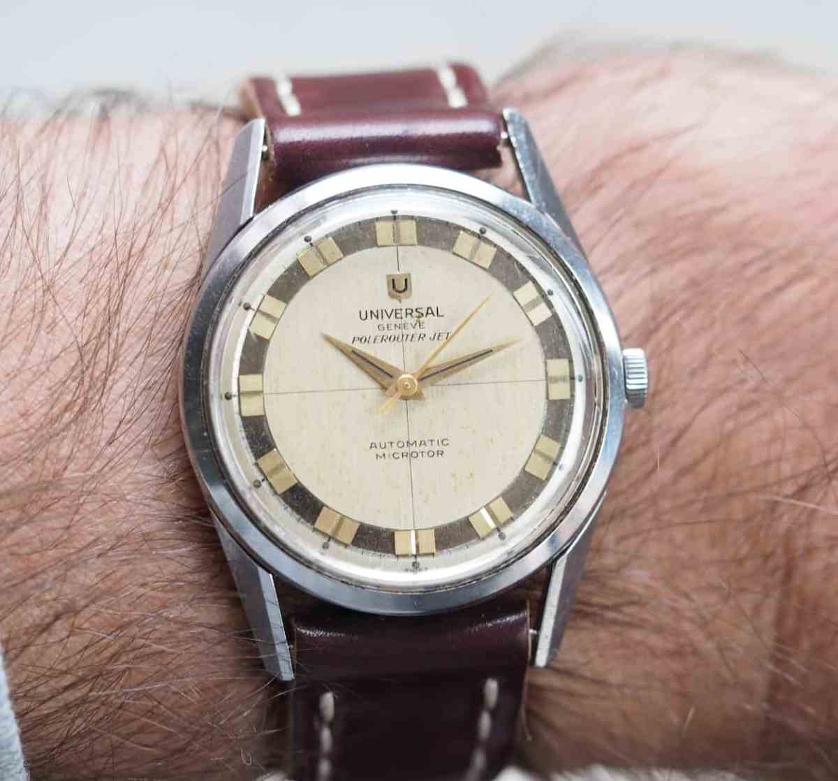 The Polerouter Jet wears well on the wrist