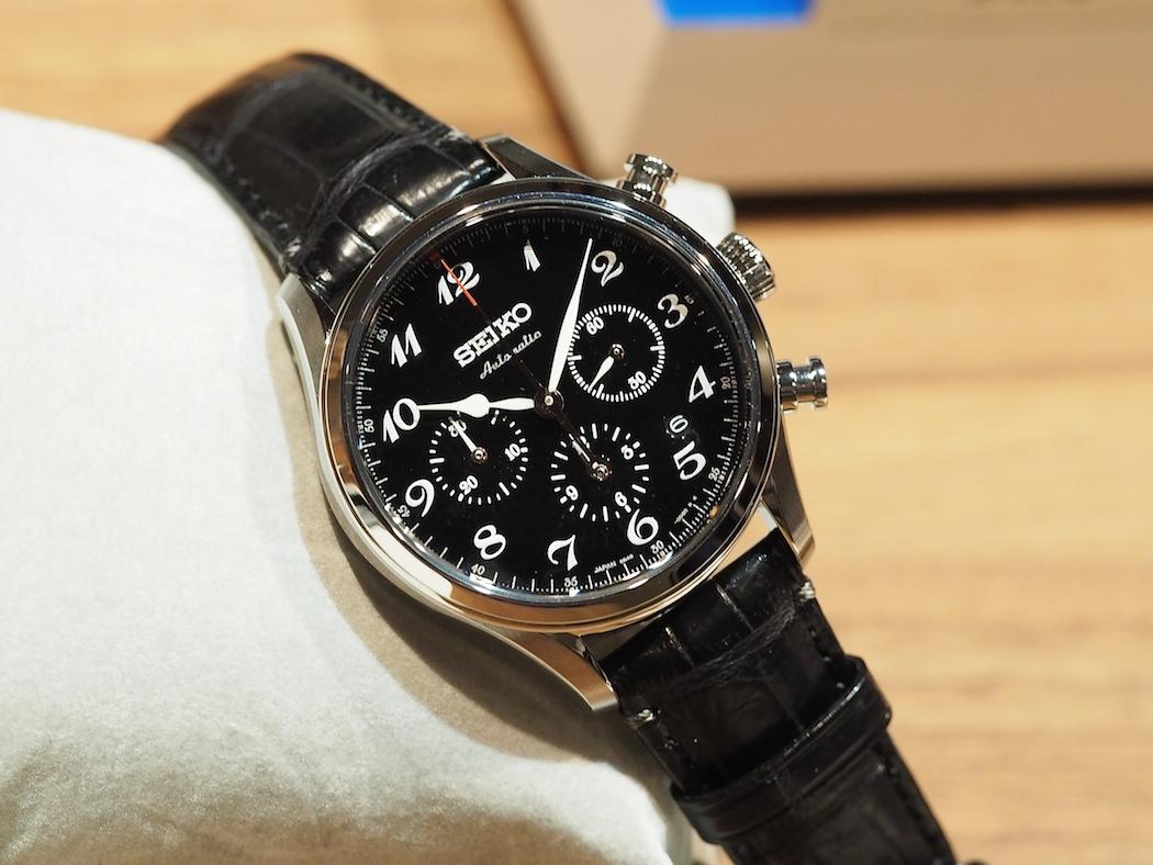 The Seiko Presage 60th Anniversary with black lacquer dial