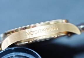 Sinn at Baselworld 2016: The 6200 Meisterbund I case inscription