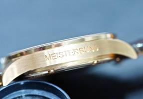 Sinn at Baselworld 2016: The 6200 Meisterbund I case inscription