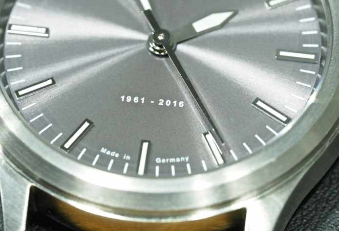 Sinn at Baselworld 2016: 556 Anniversary dial