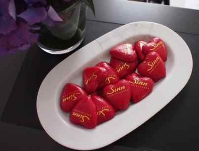 Sinn's famous chocolates