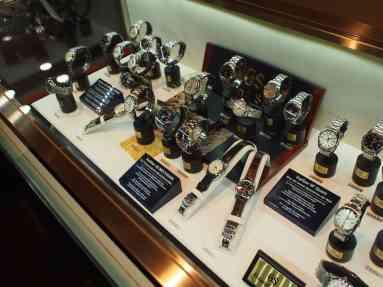 The Grand Seiko showcase
