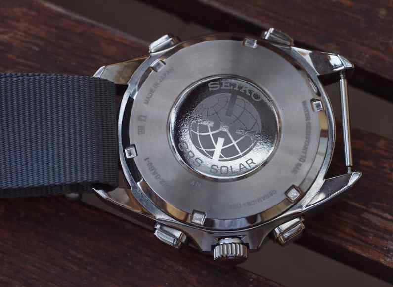 Seiko Astron case back