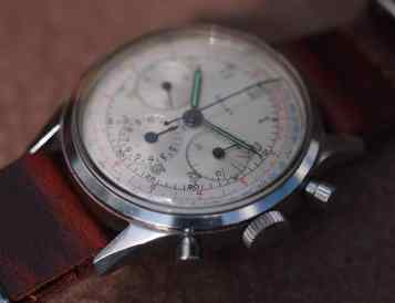 Gallet Multichron side dial