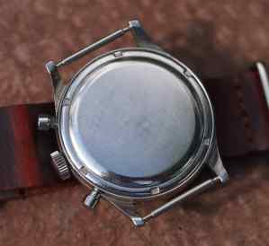 Gallet Multichron case back