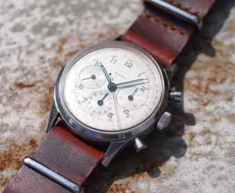 Gallet Multichron on a hot tin roof