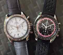 Omega GSotM and Speedy Pro head-on
