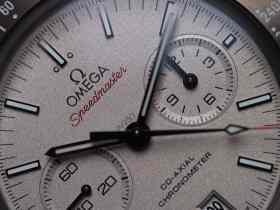 Omega GSotM platinum dial