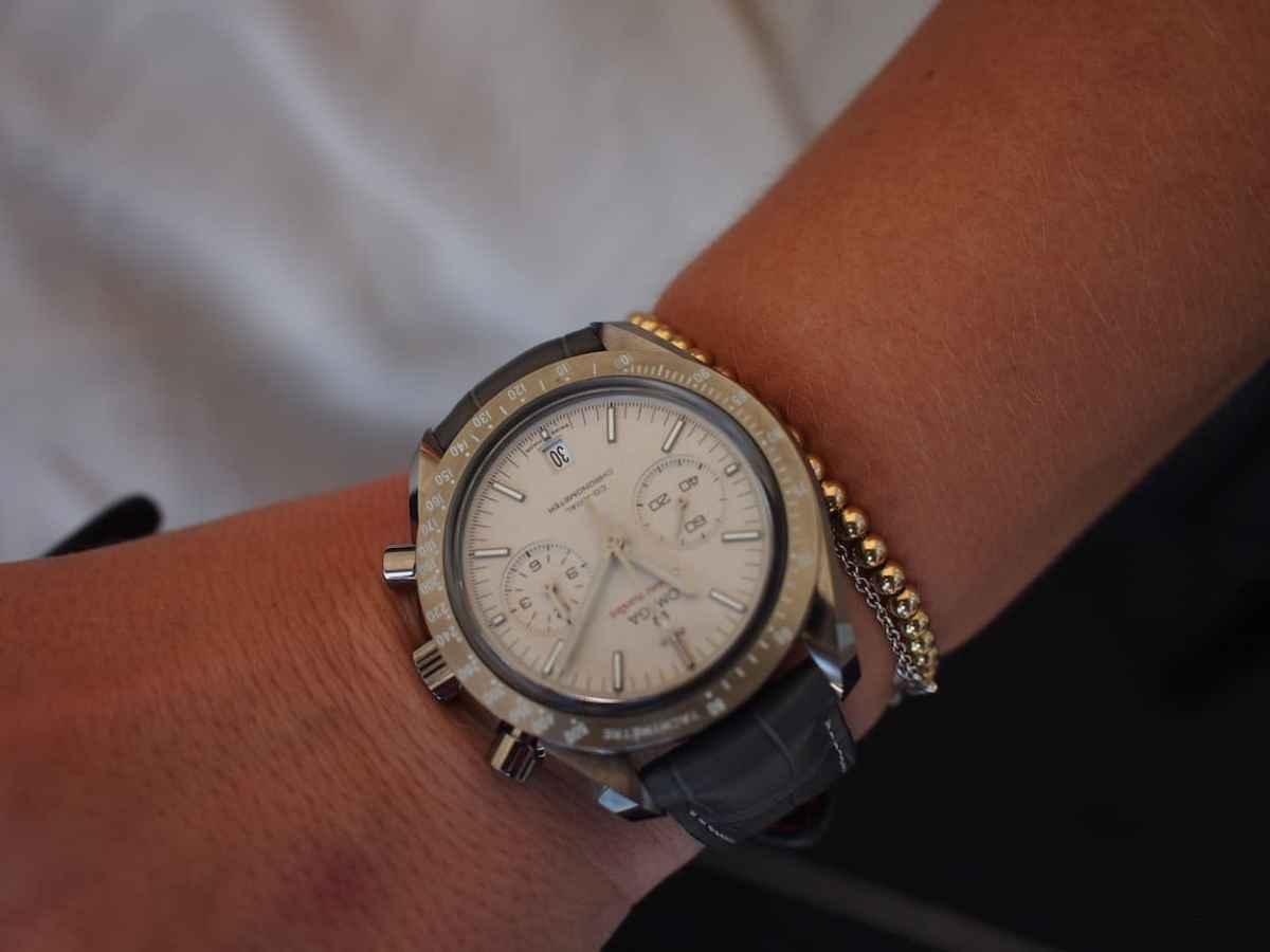 Omega GSotM on female wrist