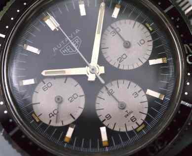 Heuer Autavia 2446 ridged sub dials